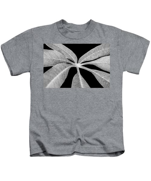 Hemp Tree Leaf Kids T-Shirt