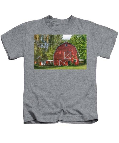0018 - Henderson Road Red I Kids T-Shirt