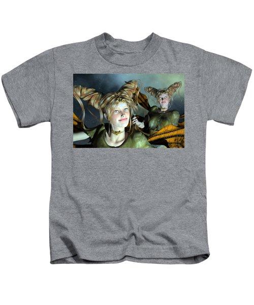 Here Comes Sunshine  Kids T-Shirt