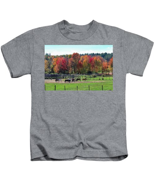 Heritage Farm In Easthampton, Ma Kids T-Shirt