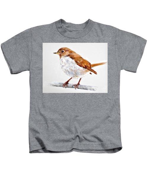 Hermit Thrush - Best 2017 - Acrylic Kids T-Shirt