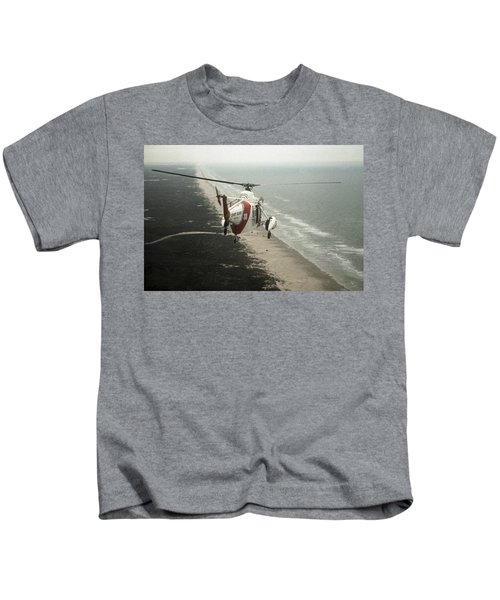 Hh-52a Beach Patrol Kids T-Shirt
