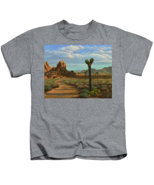 Hi Desert Road Kids T-Shirt