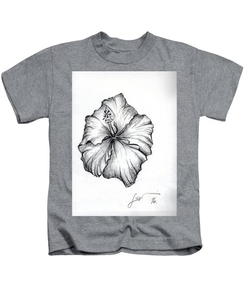 Hibiscus Flower  Kids T-Shirt
