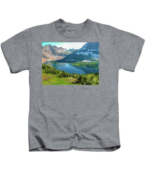 Hidden Lake Glacier National Park Kids T-Shirt