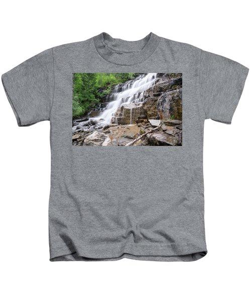 Hidden Waterfalls Kids T-Shirt