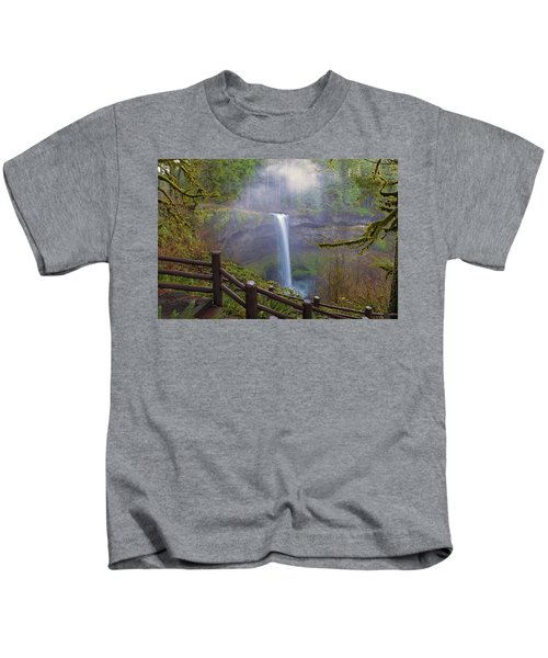 Hiking Trails At Silver Falls State Park Kids T-Shirt
