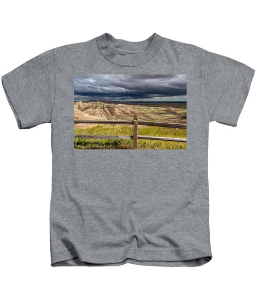 Hills Behind The Fence Kids T-Shirt