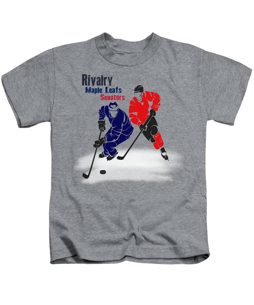 Hockey Rivalry Maple Leafs Senators Shirt Kids T-Shirt