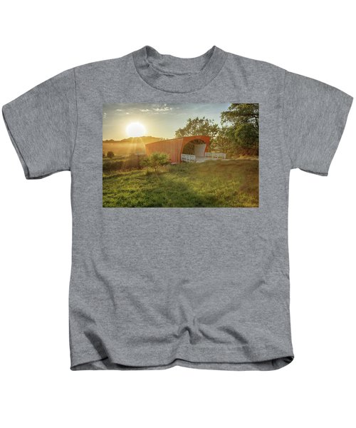 Hogback Covered Bridge 2 Kids T-Shirt