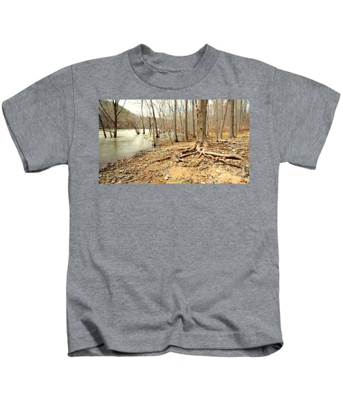 Holding On Kids T-Shirt