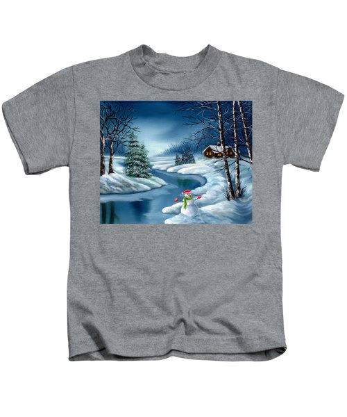 Home For The Holidays Kids T-Shirt