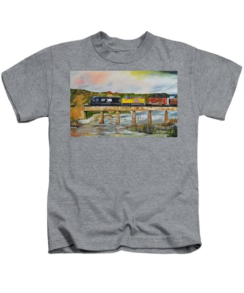 Hooch - Chattahoochee River - Columbus Ga Kids T-Shirt