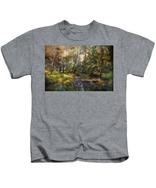 Hopkins Pond, Haddonfield, N.j. Kids T-Shirt