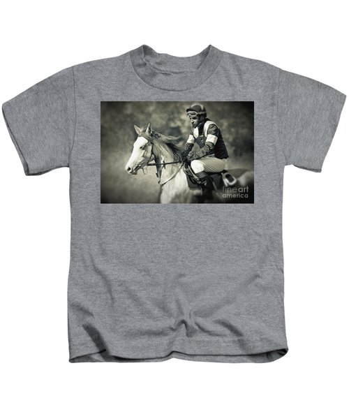 Horse And Jockey Kids T-Shirt