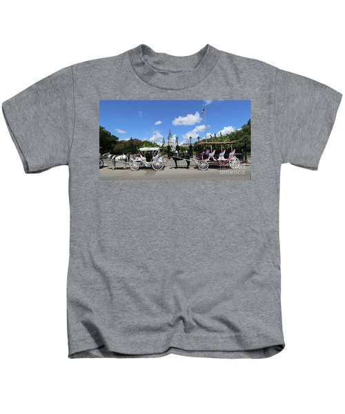 Horse Carriages Kids T-Shirt