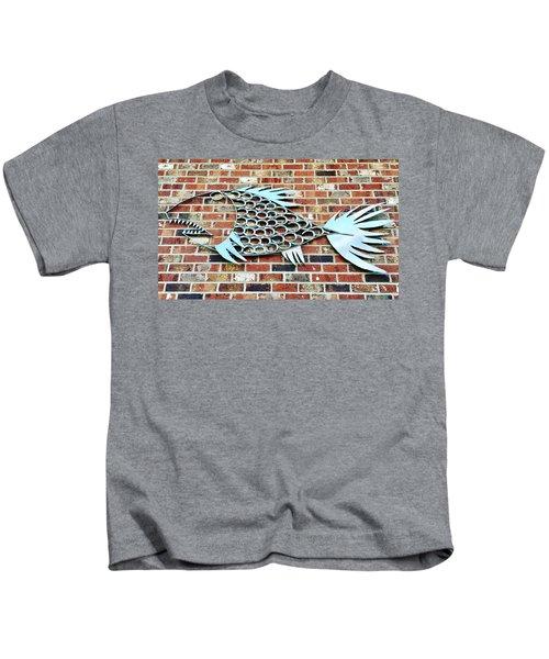 Fish Shoe  Kids T-Shirt