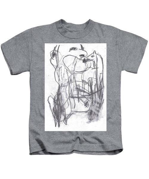Horse Kiss Kids T-Shirt
