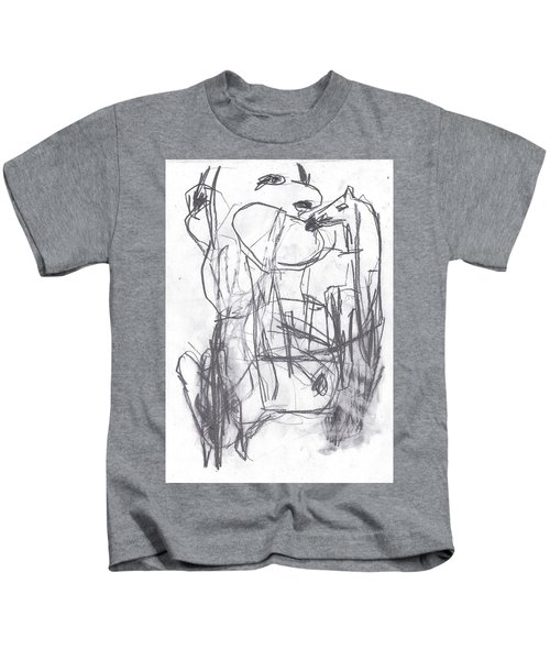 Horse Kiss Kids T-Shirt