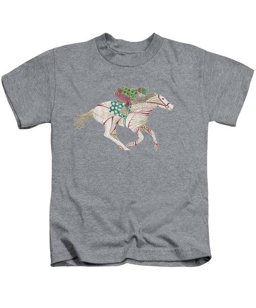 Horse Racer Kids T-Shirt