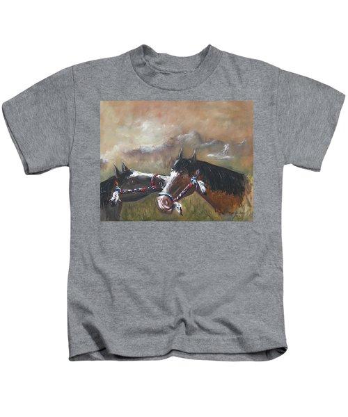 Horses Kids T-Shirt