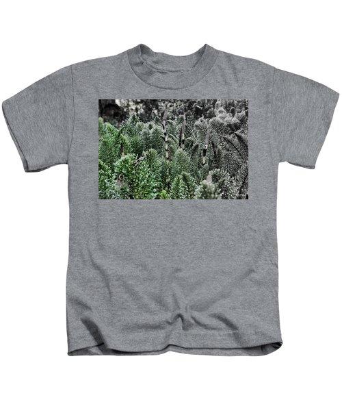 Horsetail Dewpoint Kids T-Shirt