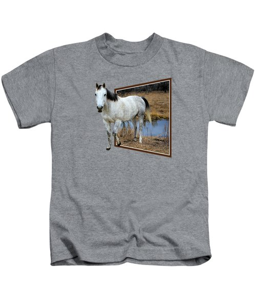 Horsing Around Kids T-Shirt