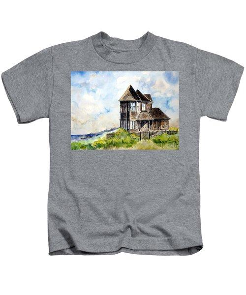 House On Little Lake Street Mendocino Kids T-Shirt