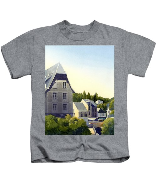 Houses At Murol Kids T-Shirt