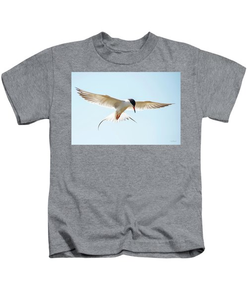 Hovering Tern Kids T-Shirt