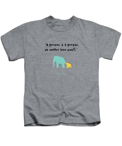 How Small Kids T-Shirt