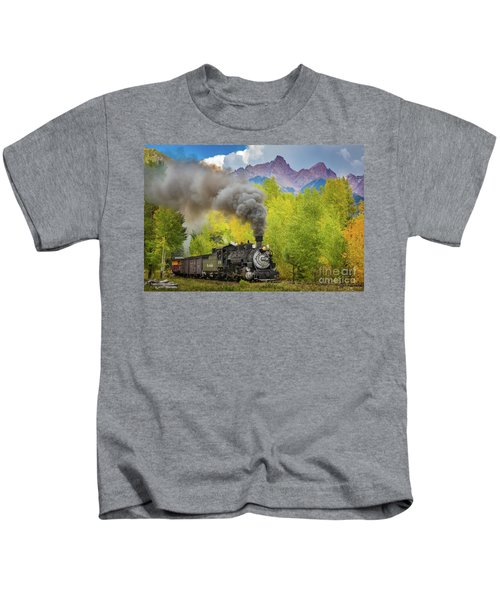 Huffing And Puffing Kids T-Shirt