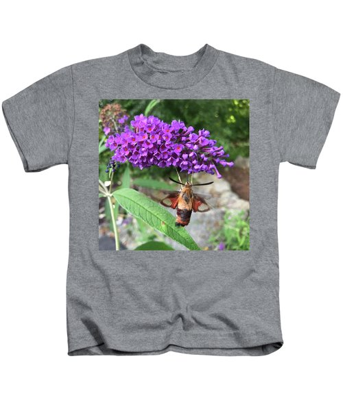 Hummingbird Moth Kids T-Shirt
