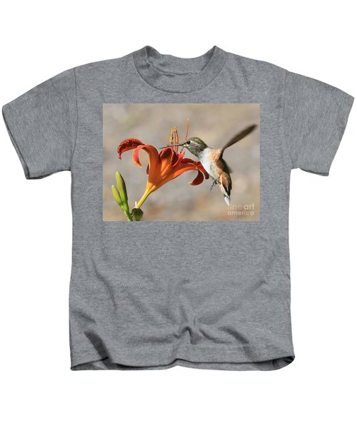 Hummingbird Whisper  Kids T-Shirt