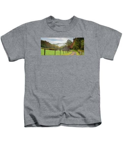 Hunting Cabin-3 Kids T-Shirt