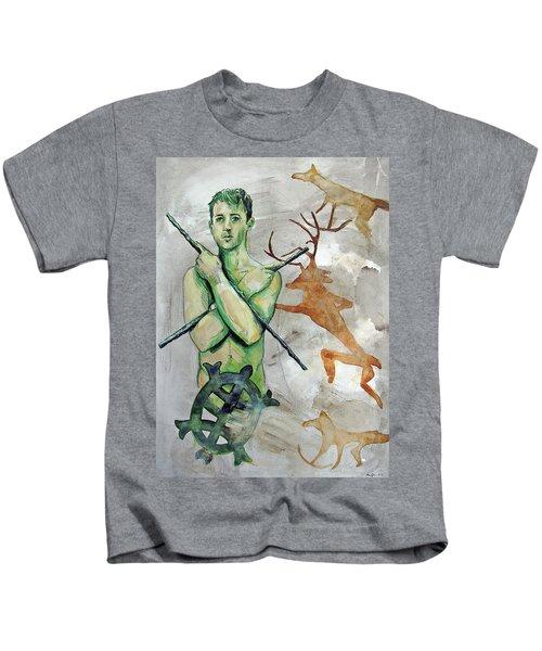 Youth Hunting Turtles Kids T-Shirt