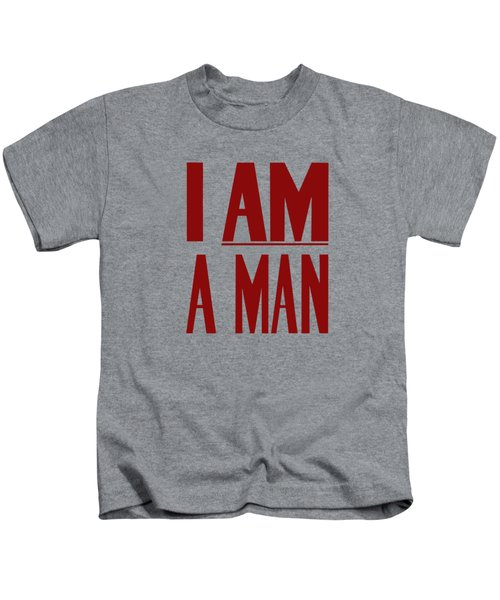 I Am A Man Kids T-Shirt