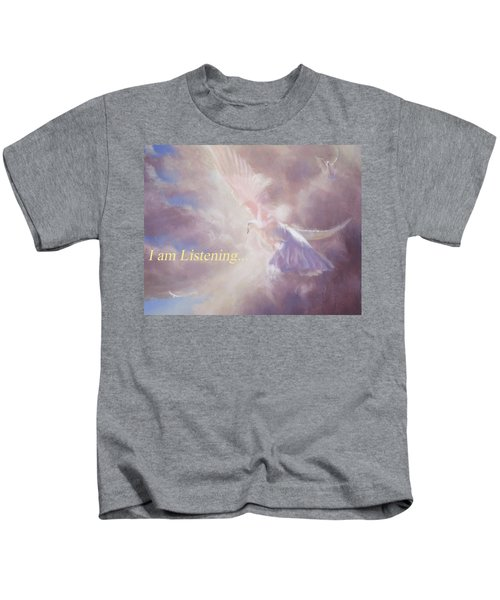 I Am Listening Kids T-Shirt