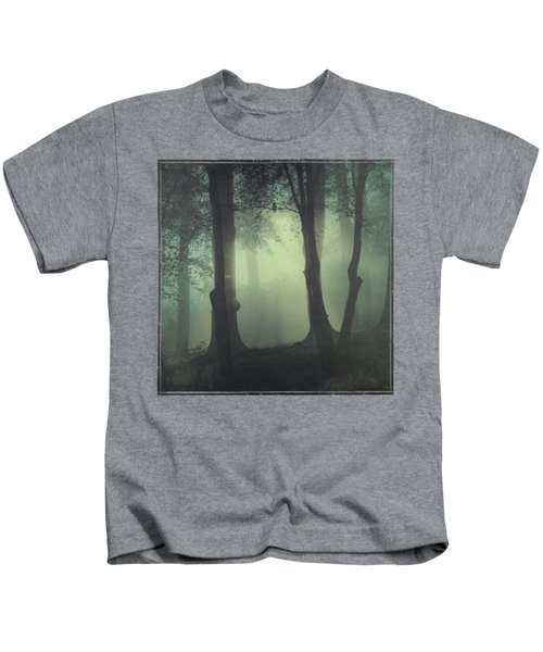 I Am Not My Usual Self - Foggy Forest Kids T-Shirt