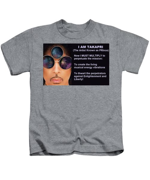I Am Takapri Kids T-Shirt