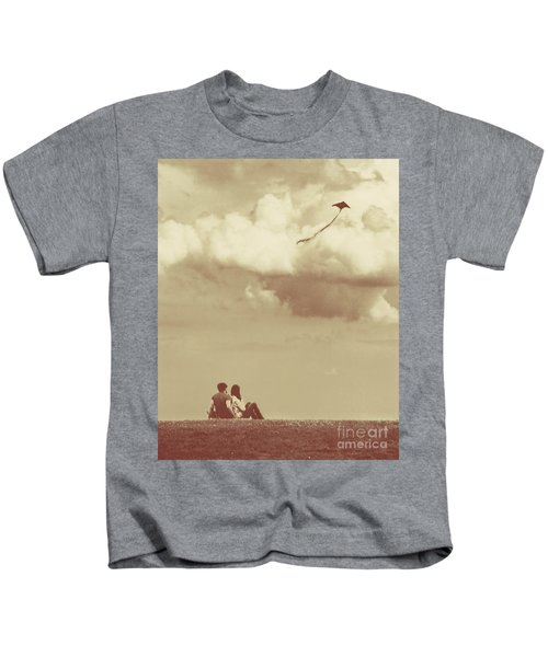 I Had A Dream I Could Fly From The Highest Swing Kids T-Shirt