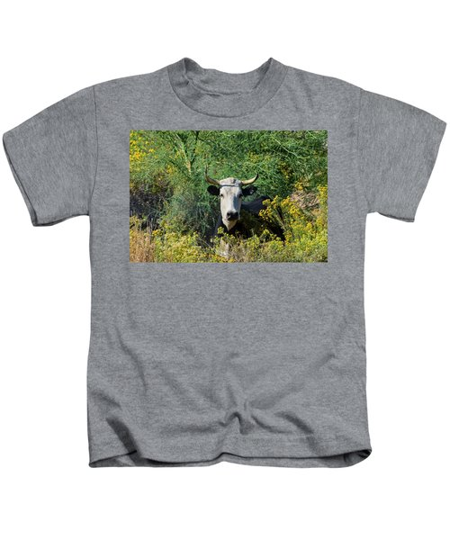 I Picked These For Moo Kids T-Shirt