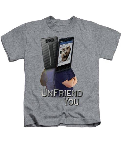 I Unfriend You Kids T-Shirt
