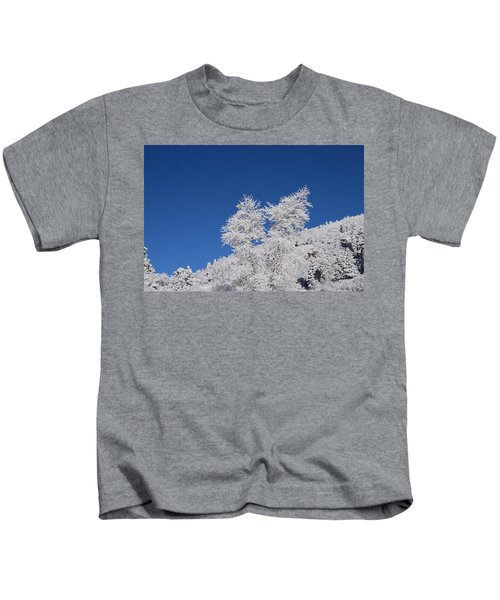 Ice Crystals Ute Pass Cos Co Kids T-Shirt
