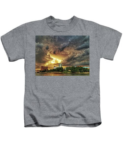 Ict Storm - From Smrt-phn L Kids T-Shirt