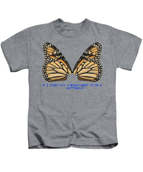 If I Could Fly Kids T-Shirt