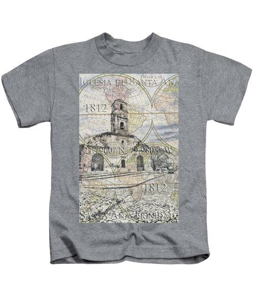 Iglesia De Santa Ana Passport Kids T-Shirt