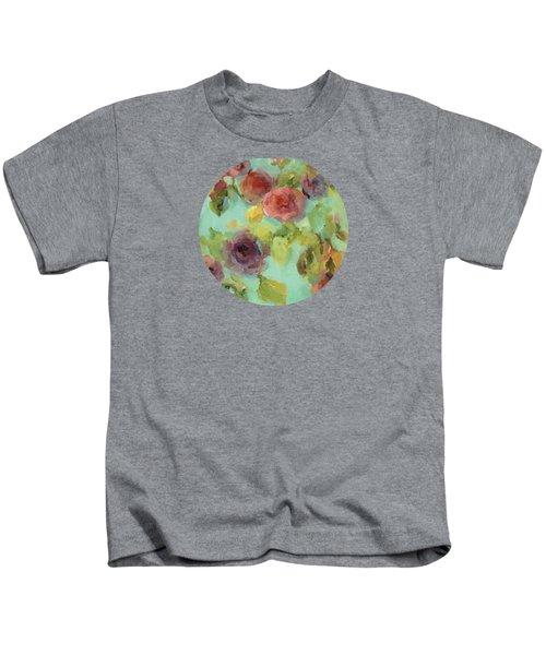 Impressionist Floral  Kids T-Shirt