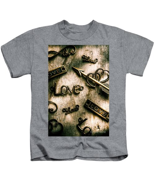 In Contrast Of Love And Light Kids T-Shirt