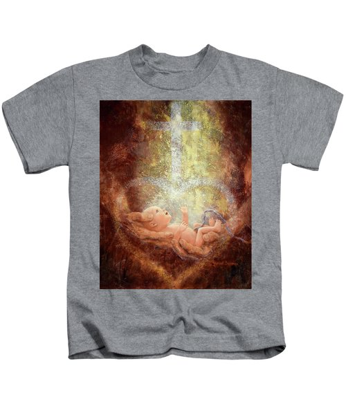 In His Hands Kids T-Shirt